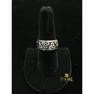 Trinity Knot Ring (R002)-Ring-Viking Merch
