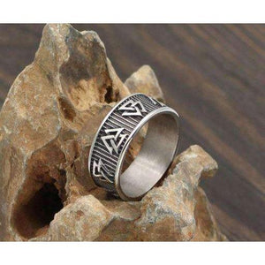 Valknut Band (R045)-Ring-Viking Merch
