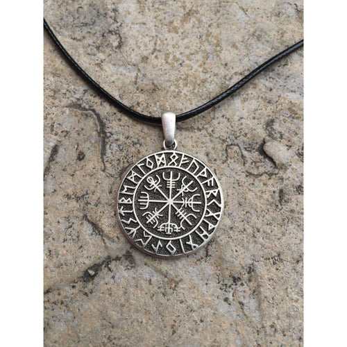 Vegvisir Amulet Necklace (VN077)-Necklace-Viking Merch