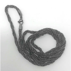Warrior Weave Chain (C005)-Necklace-Viking Merch