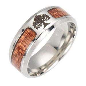 Yggdrasil Band (R047)-Ring-Viking Merch