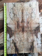 Spalted Figured Maple Bookmatched Top