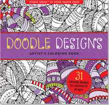 Load image into Gallery viewer, Doodle Designs Artists Colouring Book