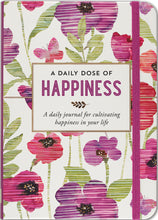 Load image into Gallery viewer, A Daily Dose of Happiness Journal