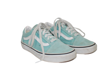 Load image into Gallery viewer, Vans Brand Old Skool Teal Sneakers