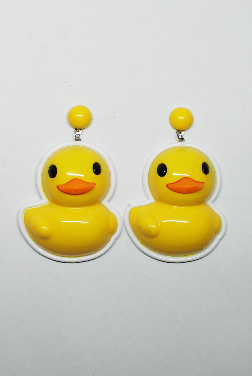 Large Dangly Duck Earring