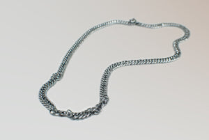 Stainless Steel Curb Link Chain Necklace