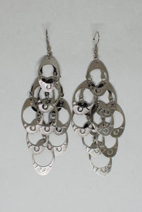 Lightweight Chandelier Oval Design Earrings