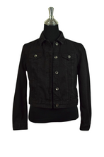 Load image into Gallery viewer, Ecko Unlimited Brand Black Denim Jacket