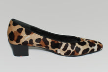 Load image into Gallery viewer, Lloyd Germany Brand Leopard Fur Square Toe Heel