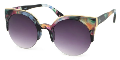 NEW Watercolour Colourful Framed Sunglasses