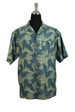 Load image into Gallery viewer, L.L Bean BRand Leaf Print Party Shirt