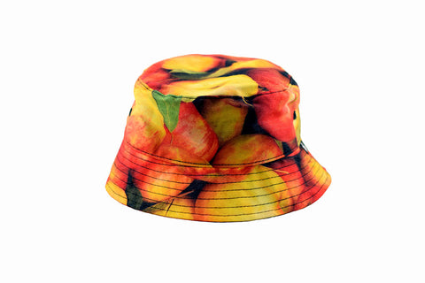 NEW Apple Print Bucket Hat