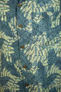 L.L Bean BRand Leaf Print Party Shirt