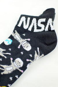 NEW Space Cats Anklet Socks