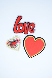 Hearts & Love Patches Pack
