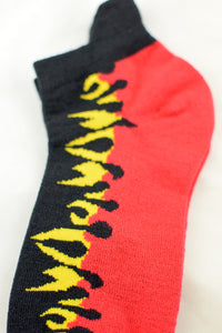 NEW Flaming Anklet Socks