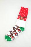 NEW Christmas Reindeer Socks