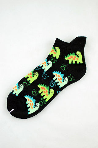 NEW Black Brontosaurus Anklet Socks