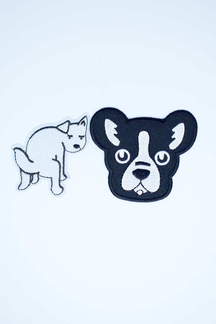 Cute Dog/Naughty Dog Patch Pack