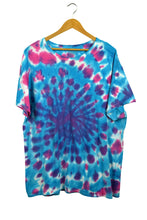 Load image into Gallery viewer, Blue and Pink Tie Dye T-Shirt