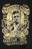NEW Johny Cash American Legend Black T-shirt