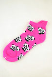 NEW Hugging Pandas Pink Anklet Socks