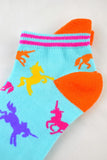 NEW Unicorn Anklet Socks