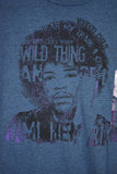 NEW Jimi Hendrix Blue T-shirt