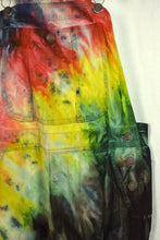 Load image into Gallery viewer, Something Brand Tie Dye Long Overalls