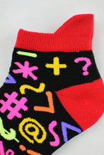 Load image into Gallery viewer, NEW Symbols anklet socks