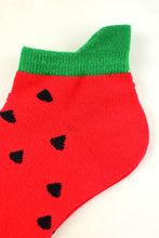 Load image into Gallery viewer, NEW Watermelon Anklet Socks