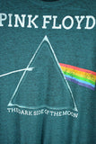 NEW Pink Floyd 'The Dark Side of the Moon' Green/Grey T-Shirt