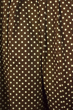 Load image into Gallery viewer, Reworked Polka Dot Print Skirt