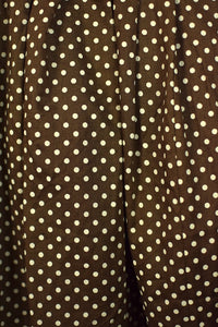 Reworked Polka Dot Print Skirt