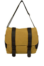 Load image into Gallery viewer, NEW Canvas Satchel Bag with Faux Leather Straps (Available in 3 colours)