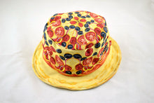 Load image into Gallery viewer, NEW Pizza Print Bucket Hat