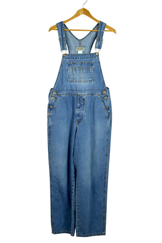 London Jean Brand Long Denim Overalls