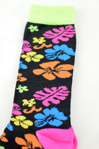 NEW Colourful Floral Socks