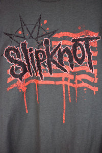 NEW Slipknot 2015 World Tour Dark Grey T-shirt