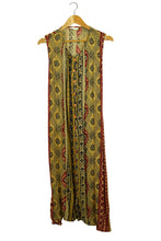 Load image into Gallery viewer, Earthy Aztec Floral Dress