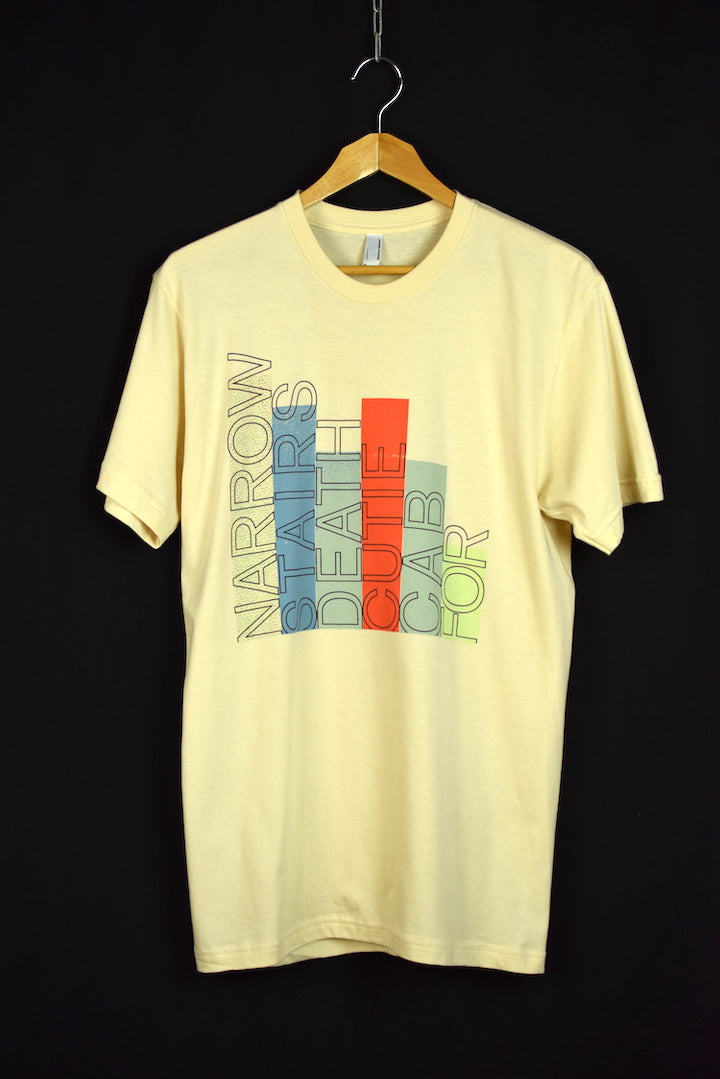 NEW Death Cab For Cutie Narrow Stairs T-shirt