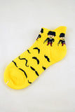 NEW Little Moustache Men Anklet Socks