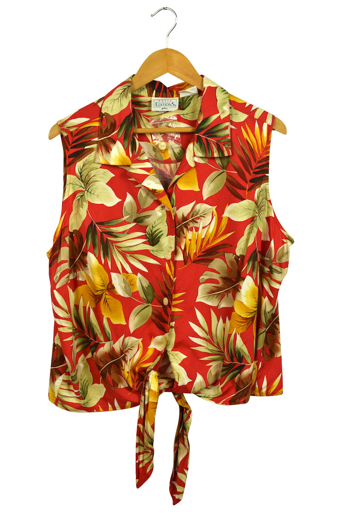Basic Editions Brand Hawaiian Shirt