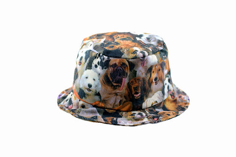 NEW Dog Print Bucket Hat