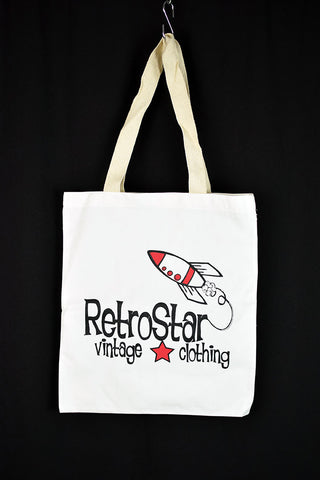 NEW RetroStar White Tote Bag