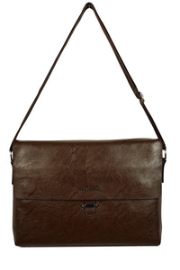 Leather Look Vinyl Satchel (Available in 2 colours)