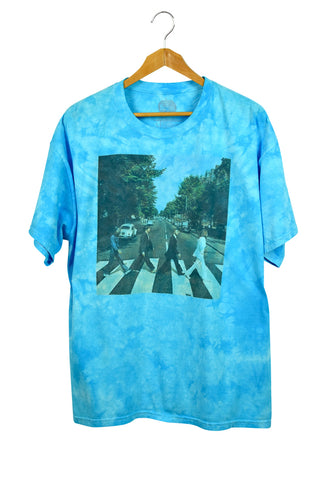 NEW c2011 Tie-Dye Beatles Abbey Road T-Shirt