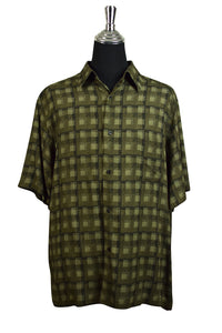 Axcess Brand Square Print Party Shirt