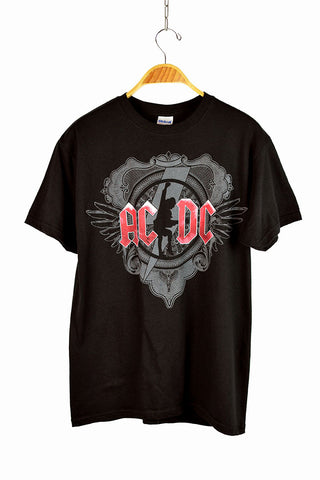 Deadstock 2010 AC/DC 'Black Ice' Tour T-Shirt